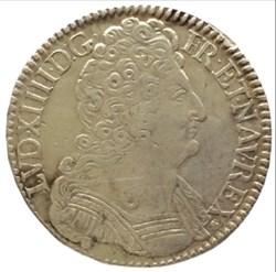 Demi écu aux trois couronnes Louis XIV 1...