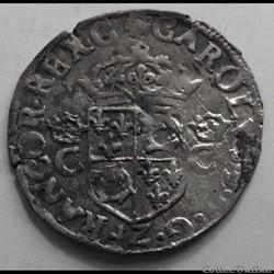 Douzain du Dauphiné Henri III au nom de ...