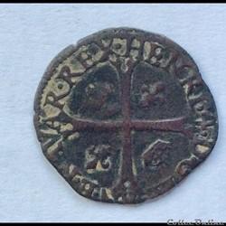 Douzain de Navarre Henri IIII 1591 Saint...