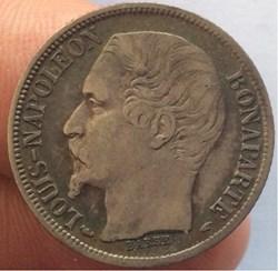 1 franc Louis Napoléon Bonaparte 1852 A ...