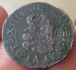 Double lorrain (tournois) Louis XIII 163...