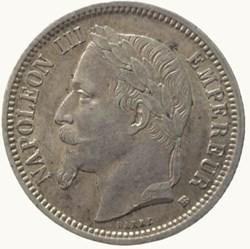 1 franc Napoléon III 1868 BB STRASBOURG ...