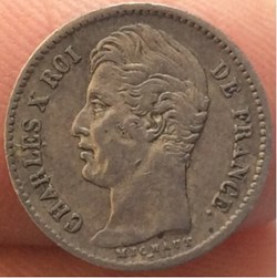 1/4 franc Charles X 1828 A Paris