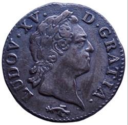 Sol à la vieille tête Louis XV 1771 CC B...