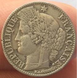 50 cent Cérès 1851 A Paris