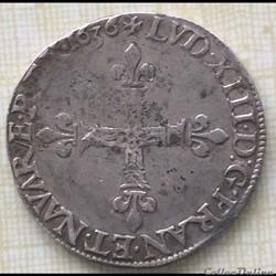monnaie france royale quart d ecu louis xiii 1636 a