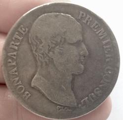5 francs Bonaparte premier consul An 12 ...