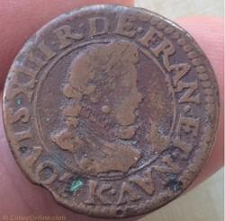Double tournois Louis XIII 161Z K Bordea...