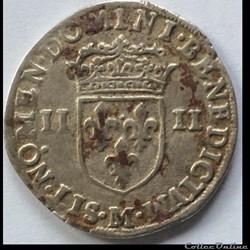 QUART D'ÉCU DE Henri IIII 1602 M Toulous...