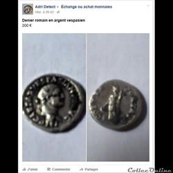 Vespasien - Denier