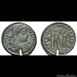 Vetranion pour Constance II