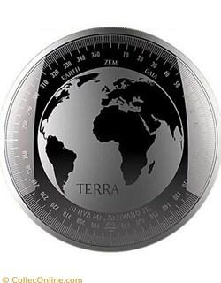 2019 TOKELAU SILVER TERRA ( MEDAILLON )