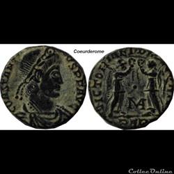 Nummus Constance II