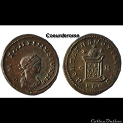 Nummus Constantin II