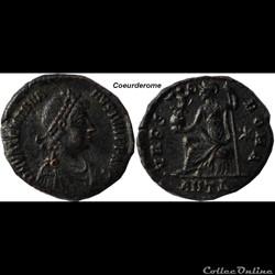 Nummus Valentinien II