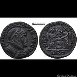 Nummus Constantin I  (Frappe Barbare Siscia)