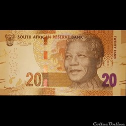 SOUTH AFRICA / P-134 / 20Rand / 2012