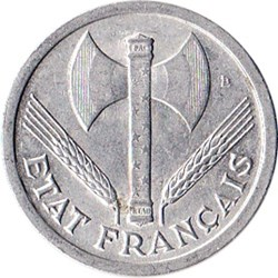 2 francs Francisque
