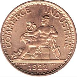 1 franc Chambres de commerce
