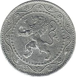 Albert 1er - 25 centimes - Occupation