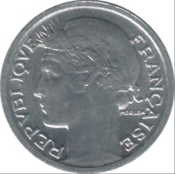 50 centimes Morlon, Aluminium