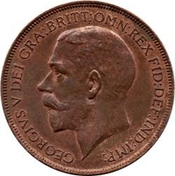 1 penny George V