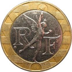 10 francs Génie de la Bastille