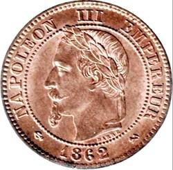 Napoléon III - 2 centimes