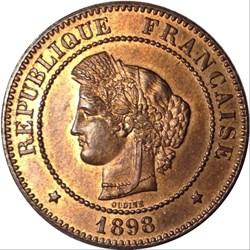 5 centimes Cérès