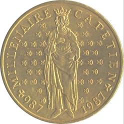 10 francs Millénaire Capétien