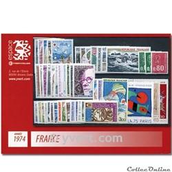 n° 1783/1829 - Timbre France Année compl...