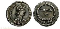 Gratian - VOTIS V - Constantinopel