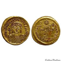 Mauricius Tiberius - Solidus