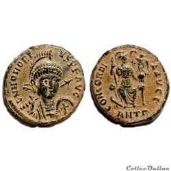 Honorius AE4 - CONCORDIA AVGG