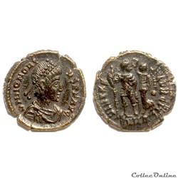 Honorius AE3 - VIRTVS EXERCITI