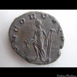monnaie antique romaine aureolus au nom de postume 267 milan
