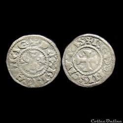 DENIER HOEL II DE BRETAGNE 1066-1084 REN...