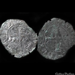 DOUBLE TOURNOIS CHARLES DE BLOIS 1352