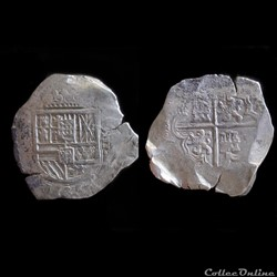 8 REALES PHILIPPE IV SEVILLES
