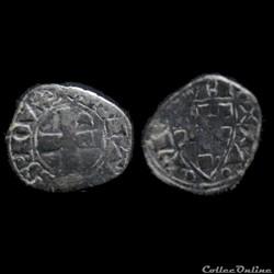 DENIER JEAN II 1286-1305 EVRAN