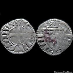 DENIER JEAN I LE ROUX 1241-1266
