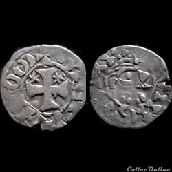 DENIER DE PENTHIEVRE TYPE III 1148-1183