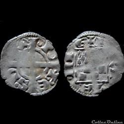 DENIER JEAN I LE ROUX 1273-1286
