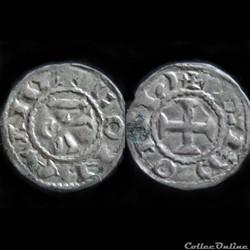 DENIER DE CONAN III 1112-1148 1er TYPE R...