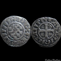 DENIER ANONYME 1286-1312 GUINGAMP