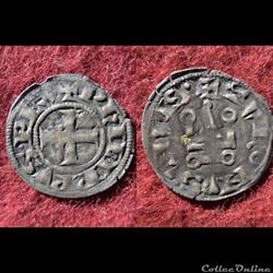 DENIER TOURNOIS PHILIPPE IV LE BEL 1285-...