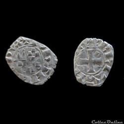 OBOLE JEAN II 1286-1305 RENNES