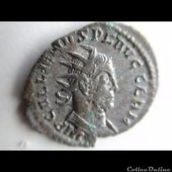 GALLIEN 255-256 ROME LAEITIA