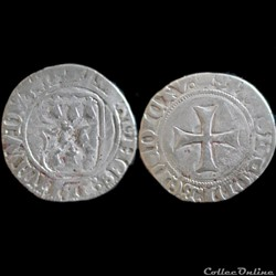 BLANC A LA TARGE JEAN V 1399 1442 MORLAIX