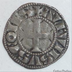 Alphonse de France (1241-1271). Denier